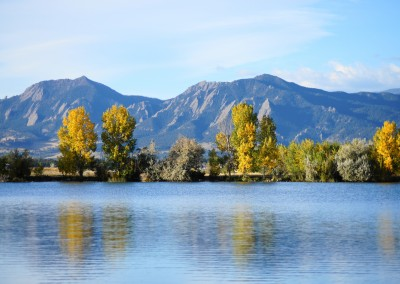 Fall at Coot Lake Boulder