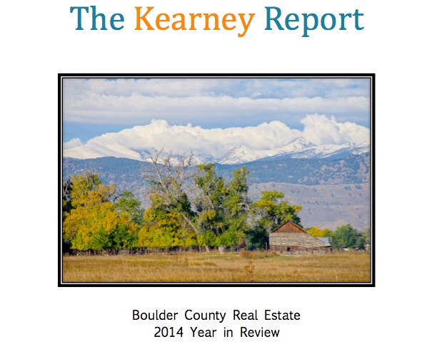 Boulder Real Estate – 2014 Year in Review