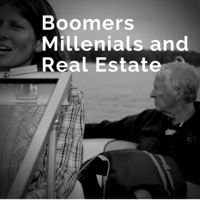 Baby Boomers, Millennials and Real Estate
