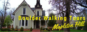 Boulder Walking Tours – Mapleton Hill