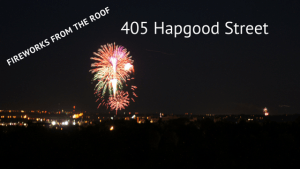 Fireworks from 405 Hapgood