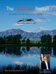 Boulder Area Real Estate Update – The Kearney Report Q2-2017