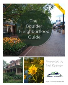 Boulder Neighborhood Guide 2018