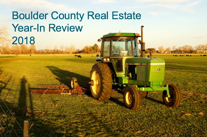 2018 Boulder Real Estate Year-In-Review