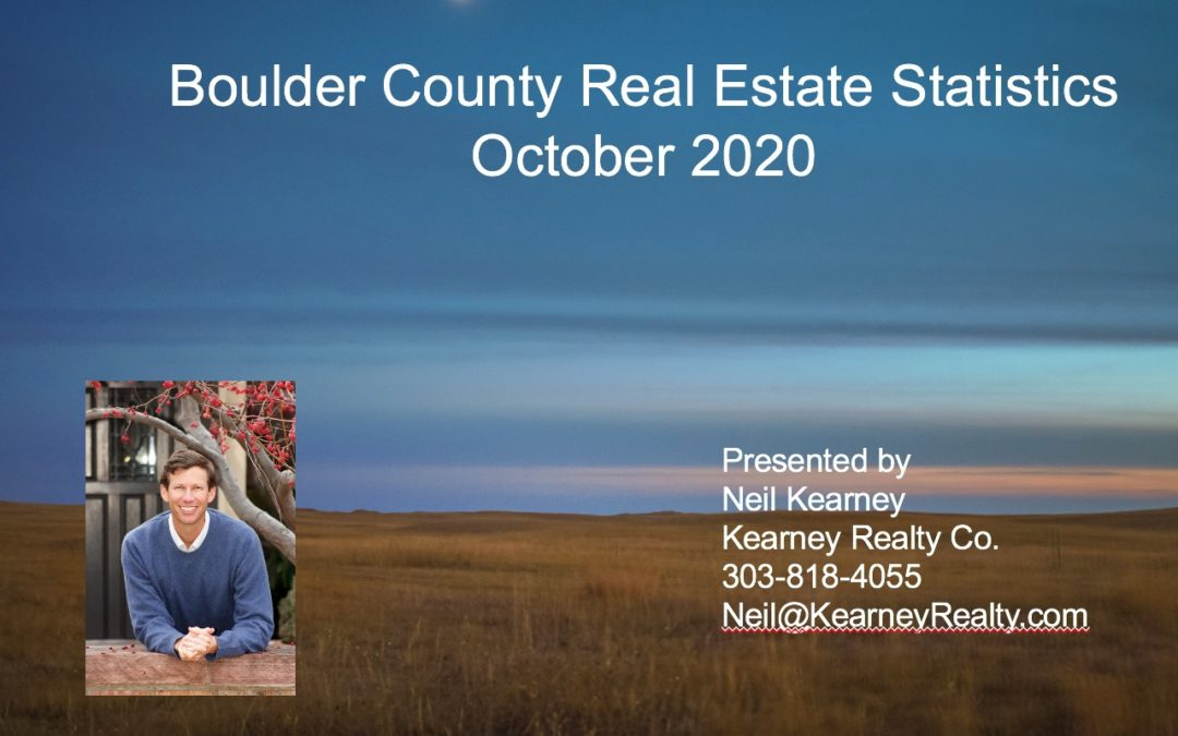 Monthly Real Estate Statistics October 2020